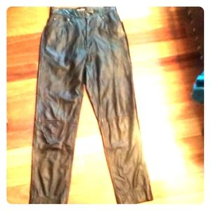 VTG leather pants